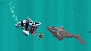getlinkyoutube.com-Hungry Shark Evolution Robo Shark Android Gameplay #12