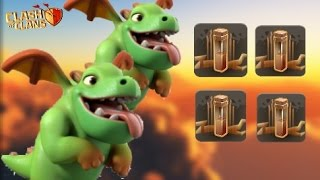 getlinkyoutube.com-MASS BABY DRAGON + QUAD QUAKE | TH9 New WAR ATTACK Strategy | Clash Of Clans
