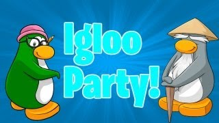 getlinkyoutube.com-Club Penguin: How to get any Mascot in your Igloo