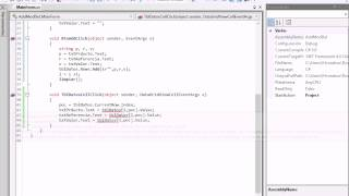 getlinkyoutube.com-C#  DataGridView Agregar, Modificar y eliminar registros.
