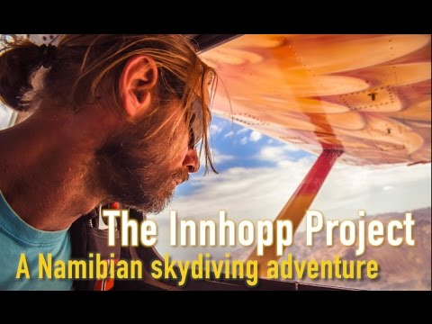 The Innhopp Project: A Namibian skydiving adventure