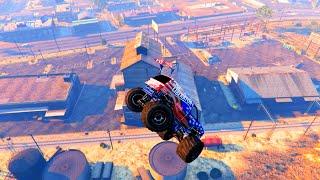 GTA V Unbelievable Crashes/Falls - Episode 76