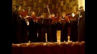 getlinkyoutube.com-Pr. Laurenţiu Iacob şi Grupul Psaltic Sfântul Ioan Damaschin - De Tine se bucură...gl.8