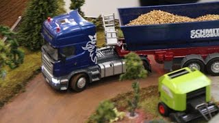 getlinkyoutube.com-SIKU 6725 RC Scania Zugmaschine mit Kippsattel
