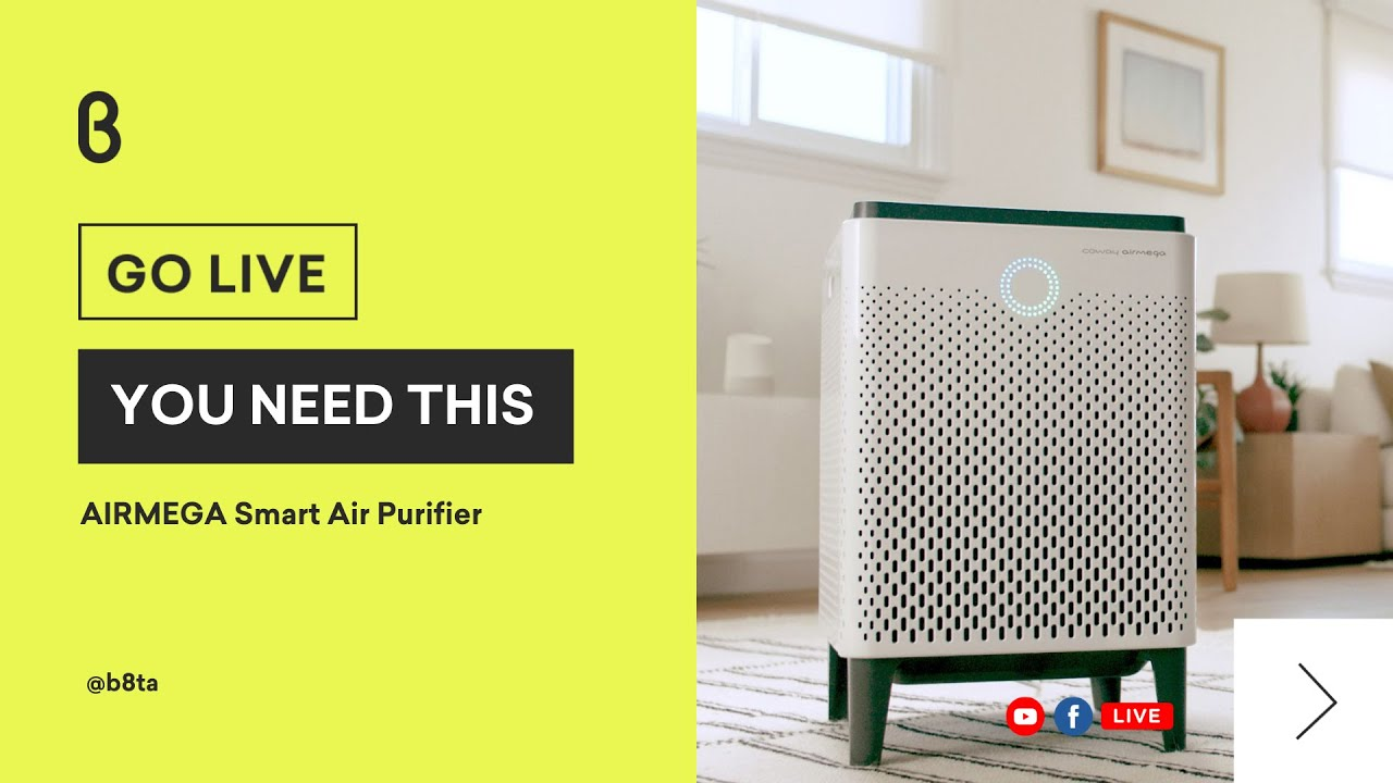 You Need This featuring AIRMEGA Smart Air Purifier