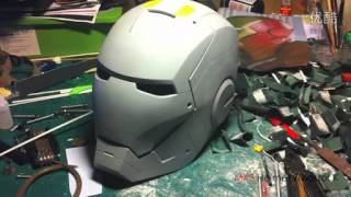 getlinkyoutube.com-Homemade ironman MK3 Helmet/ MASTER.K