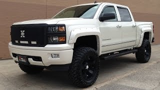 Lifted 2014 Chevrolet Silverado 1500 LTZ from Ride Time