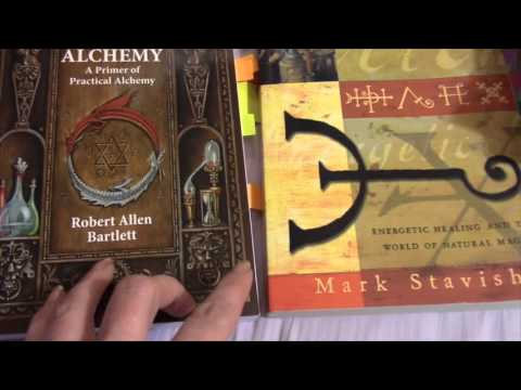 Comparing Alchemy Books