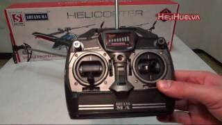 getlinkyoutube.com-Características-Funciones Emisora Helicóptero DH 9104
