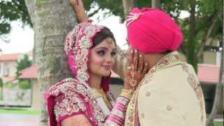 getlinkyoutube.com-Sikh Wedding Highlights - Arvin & Sheema