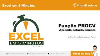 Excel em 5 min - Função PROCV (Descobrindo o telefone do Eduardo Cunha)