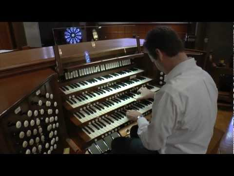 Ken Cowan plays Wagner on the Quimby Pipe Organ at Saint Paul's Episcopal Cathedral in San Diego