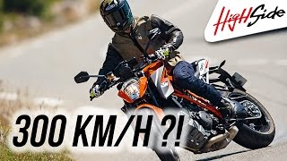 getlinkyoutube.com-KTM 1290 Super Duke R : des glisses et 300 km/h au Castellet