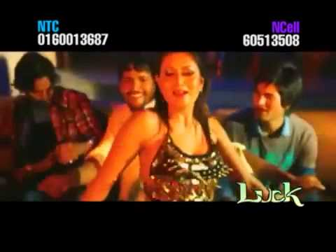 Luck   New Nepali Movie   Dekhai Dinchhu Sabai Kura   Full Song   Hot Samjhana Pyakurel   YouTube