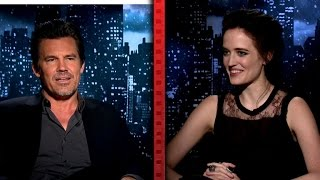 Josh Brolin Gets Flustered Talking About 'Sin City 2' Sex Scenes
