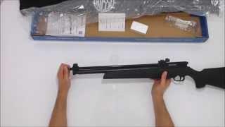 getlinkyoutube.com-Carabina de Pressão Webley Rebel Multi Pump 5,5mm + capa