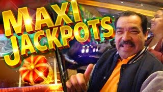 getlinkyoutube.com-BIG JACKPOT TIME !!! Jackpot Streams - 2c KONAMI Video Slots