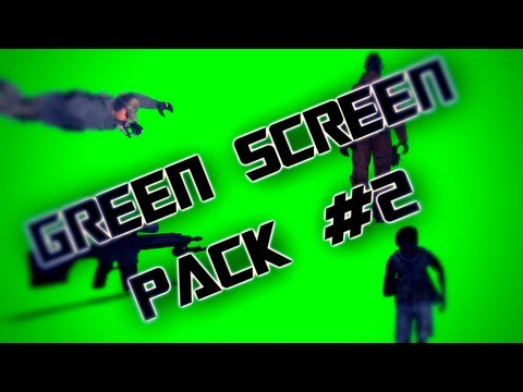 Green Screen Pack #2 | Special 2000 subscribers video !