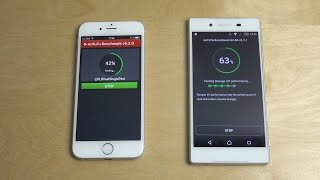 getlinkyoutube.com-iPhone 6S vs. Sony Xperia Z5 - Benchmark!