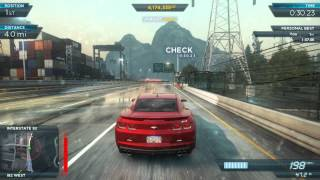 getlinkyoutube.com-NFS Most Wanted 2012: Fully Modded Pro Chevrolet Camaro ZL1 | Most Wanted List #10, #5, #4 & #2