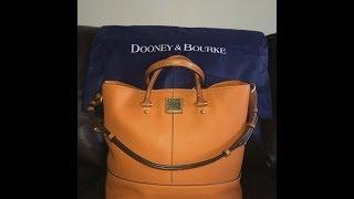 getlinkyoutube.com-Dooney & Bourke - Chelsea Shopper (Orange)