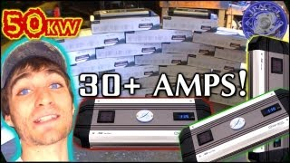 getlinkyoutube.com-30 Amplifiers... In The Console! Exclusive Build Preview: Iraggi Alternators 50,000W Sound System