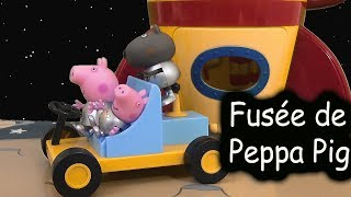 getlinkyoutube.com-Peppa Pig La Fusée Spatiale Astronaute Jouet ♥  Peppa Pig Spaceship Explorer Set With Moon Buggy