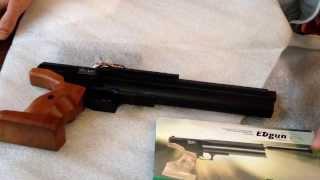 getlinkyoutube.com-PCP пистолет Edgun Veles (Edgun veles)
