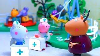 getlinkyoutube.com-Свинка Пеппа и набор Play - Doh - Доктор Зубастик. Мультфильм для детей .