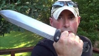 getlinkyoutube.com-BIG BAG O' BLADES: Survival Knives and Edged Tools