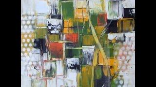 getlinkyoutube.com-Acrylmalerei, Spachteln, Painting Acrylic with Spatula, Tutorial