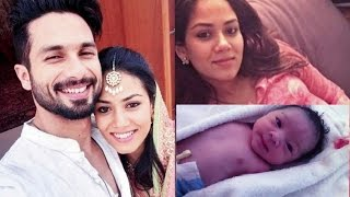 getlinkyoutube.com-देखिए शाहिद कपूर की बेटी की पहली झलक | REVEALED: Shahid Kapoor-Mira Rajput Baby Daughter First Look