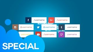 getlinkyoutube.com-Social Media Lower Thirds | After Effects Template