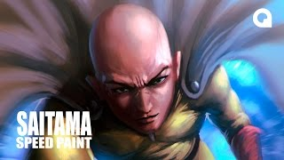 getlinkyoutube.com-SAITAMA/ONE PUNCH MAN -  TIMELAPSE