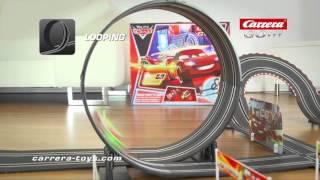getlinkyoutube.com-Carrera GO!!! Disney/Pixar Cars -  Neon Shiftn Drift HD