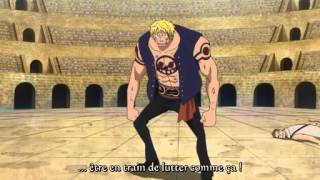 getlinkyoutube.com-One Piece - Bartolomeo vs Bellamy (Episode 638 Vost FR)