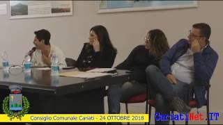 Consiglio Comunale Cariati 24 ottobre 2018   PARTE4