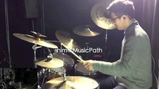 getlinkyoutube.com-《陽光點的歌》(吳業坤)- Drum Cover by zhim