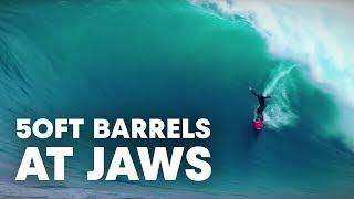getlinkyoutube.com-Positively Kai: 50ft Barrels at JAWS | S1E17
