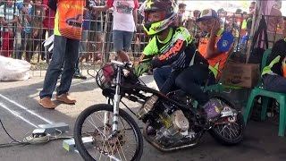 getlinkyoutube.com-Drag Bike BATANG ; SANGAR FINAL Satria FU TU 200 CC OPEN ; Persaingan SENGIT Joki PAPAN ATAS ; BSMC