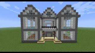 getlinkyoutube.com-Как построить красивый дом в Minecraft [часть 1]