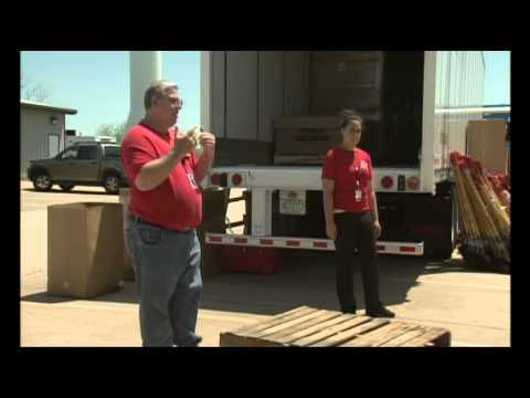 Father and Daughter Volunteer in Moore