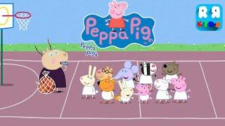 getlinkyoutube.com-Peppa Pig's Basketball (by Nickelodeon Games) - Gameplay Video
