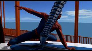 Spider-Man 3D Animation