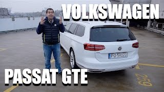 Volkswagen Passat GTE (ENG) - Test Drive and Review