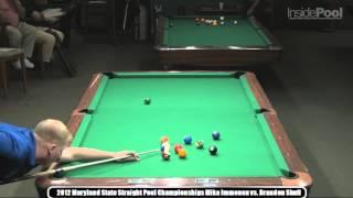getlinkyoutube.com-Mika Immonen Brandon Shuff 2012 Maryland Straight Pool Championship