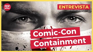 SDCC 2015: Chris Wood, Julie Plec, Matt Corman e Chris Ord de Containment