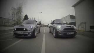 getlinkyoutube.com-R53 vs R56 Dark Silver (sound, acceleration, on board...)