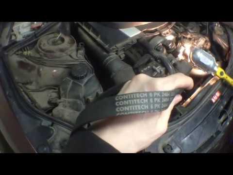 Расположение ремня генератора у Mercedes GLC Coupe