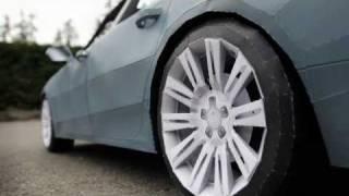 "getlinkyoutube.com-""2012 Audi A7"" - Papercraft"